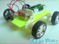 Electric motor science project motordb school projects for Simple electric motor science project