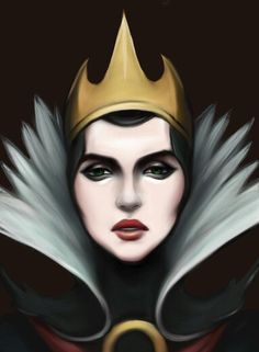 The Queen - Snow White and the Seven Dwarfs ❤ Disney Fan Art, Disney Love, Dark Disney, Disney Stuff, Snow White 1937, Snow White Evil Queen, Dark Queen, Disney Films, Disney Villains