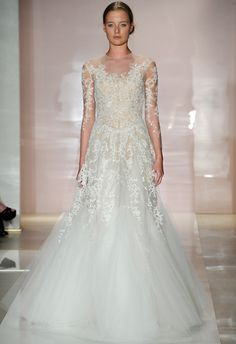 Reem Acra Fall 2014 Wedding Dresses | Click through for collection