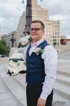 Indianapolis Photographer Lacy Clagg Photography - Star Wars Groom