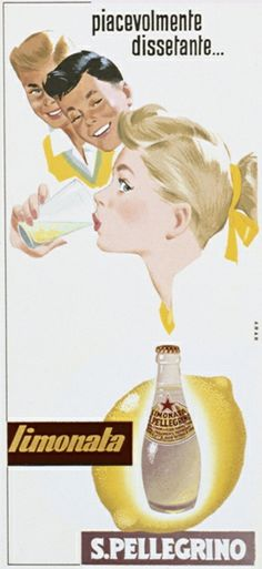 """Limonata, pleasantly refreshing…"" san pellegrino fruit beverages"