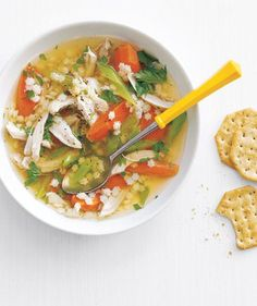 Good for You, Body and Soul   What could be more comforting than chicken soup in cold weather—and cold and flu season
