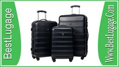 Merax Travelhouse Luggage 3 Piece Expandable Spinner Set Review