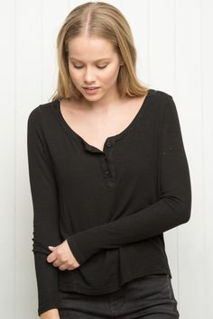 Brandy ♥ Melville   Nadia Top - Long Sleeves - Tops - Clothing