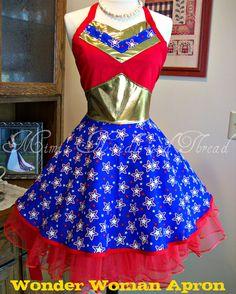 Serious Wonder Woman!