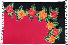 Strandtuch vielseitig einsetzbar  Sarong Pareo Wickeltuch Lunghi Dhoti Fair Trade Blickdicht aus Rayon (Viskose), wird in Bali (Indonesien) nach unserer Designvorgabe handgefertigt. Das Tuch ist vielseitig verwendbar als Tischdecke, Wickeltuch, Wandbehang, Strandtuch oder einfach als Geschenk. Das Tuch wurde nach traditionellem Verfahren handgebatikt und handbemalt bzw. gedruckt. Waschbar mit 40° und kein Ausbleichen, auch nach häufiger Wäsche. Größe ca. 170cm x 110cm inklusive Fransen… Design, Bali Indonesia, Fringes, Handmade, Summer, Simple, Gifts