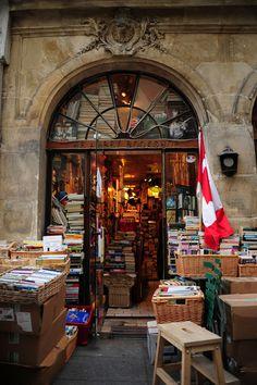 cafesblog:    The Abbey Bookshop, París