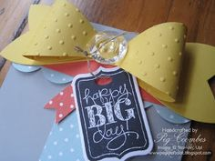 stampin up gift bow die card ideas - Google Search
