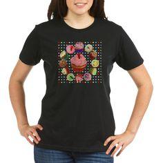 Organic Women& T-Shirt (dark) Geile T-shirts, Teal Ribbon, T Rex, Cool T Shirts, Classic T Shirts, Shirt Designs, T Shirts For Women, Mens Tops, How To Wear
