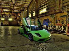 Green Lamborgini