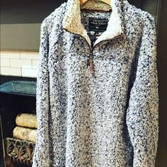 True Grit Jackets & Coats - True Grit Pullover Would love to get this in my style fix! True Grit Pullover, Half Zip Pullover, Fall Winter Outfits, Autumn Winter Fashion, Winter Clothes, Fall Fashion, Winter Wardrobe, My Wardrobe, Sweatshirts