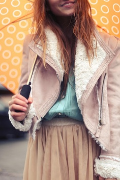Girly, Pleated Layers.