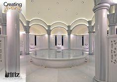 JW Marriott Ankara Turkish Bath (Hammam) by Mehmet Akça, via Behance