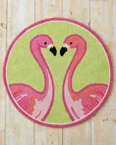 New Lilly Pulitzer Flamingo rug. Love love love