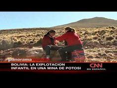 ▶ Niños trabajan en una minera boliviana - YouTube