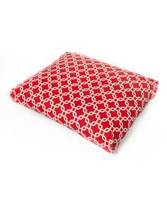 Look what I found on #zulily! Red Links Pet Bed by Merchilla #zulilyfinds