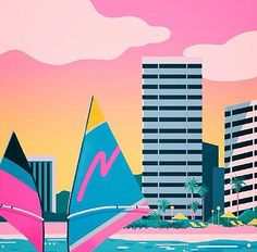 YOKO HONDA's 80's INSPIRED ARTWORK | Art