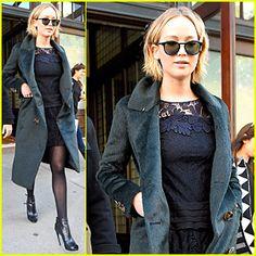 Jennifer Lawrence Admits Skinning Squirrel on 'Colbert Report'