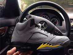 """Air jordan 5 retro ducks Air Jordan 5 Retro """"Oregon Ducks"""" PE (Part III   First Look)"""