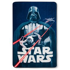 Star Wars Classic Logo Blue Bed Blanket (Twin)