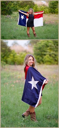 Click the pic for 25  senior pictures of a dancer with curly hair, Texas girl, flag, creative, Flower Mound Dallas Photographer