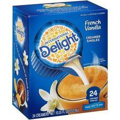 Sugar Free Coffee Creamer, Vanilla Coffee Creamer, Candy For Sale, Teething Gel, Beverage Packaging, Food Goals, French Vanilla, Vanilla Flavoring, Lactose Free