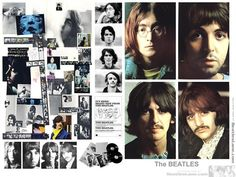"""The Beatles, also known as """"The White Album"""", is the ninth studio album by the English rock band the Beatles, released on 22 November A double album, i. Les Beatles, Beatles Art, John Lennon Beatles, Jane Asher, Julian Lennon, Linda Mccartney, Abbey Road, Ringo Starr, George Harrison"""