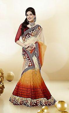 Fency Lehenga Choli Partywear Women Indian Designer wedding Lehenga Ethnic 3316