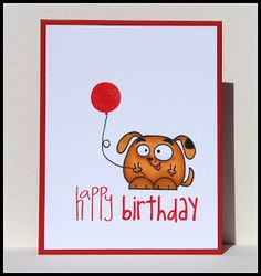 Happy Birthday #card by Susan #PaperSmooches