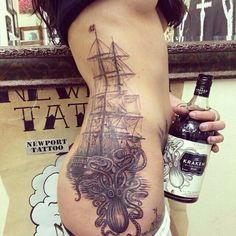 Exciting tattoo. Perhaps this is so or not?