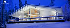 Photos of modern post and beam houses 1 | Polar Life Haus