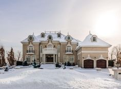 $9 Million French Inspired Waterfront Mansion In Quebec, Canada | Homes of the Rich – The Web's #1 Luxury Real Estate Blog