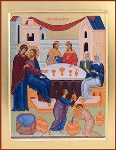 wedding feast at cana icon