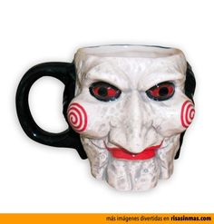 Diverse: Billy The Clown krus Great Jokes, Best Coffee Mugs, Mug Cup, Cool Stuff, Tableware, 3d, Fnaf, Handbags, Halloween