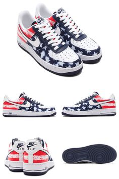 """Nike Air Force 1 Low """"Independence Day"""" 2014"""