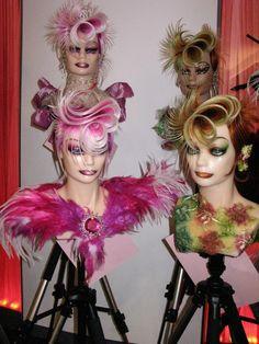 Mannequin Hair...OMC Training in Darmstadt www.omchairworld.com