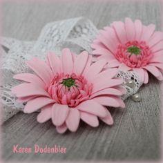 {Cheerful pink Gerberas by Karen Dodenbier}