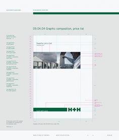 Corporate & Brand Identity - H+H International, Denmark on the Behance Network Brand Identity, Branding, Letterhead Design, Brand Guidelines, Corporate Design, Design Inspiration, Graphic Design, Lettering, Creative