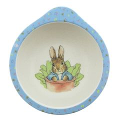 Beatrix Potter Peter Rabbit Organic Bowl for sale online Peter Rabbit Organics, Rabbit Baby, Child Face, Christening Gifts, Beatrix Potter, Gifts For Boys, Baby Gear, Baby Love, Little Boys