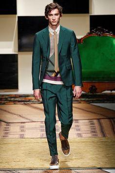 Sfilata Salvatore Ferragamo Milano Moda Uomo Primavera Estate 2016 - Vogue