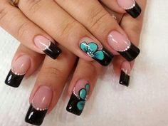 ★ Feet Nails, Latest Nail Art, Cute Nail Art, Super Nails, French Nails, Manicure And Pedicure, Nail Arts, Pretty Nails, Simple Designs