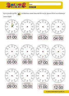 Fise de lucru cu ceasul