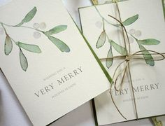 These little note cards are perfect to send a hello for the holidays or to use as gift cards. The cards are printed on warm white eco-friendly 100%