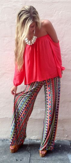Over The Rainbow Exuma Pants - Boca Leche
