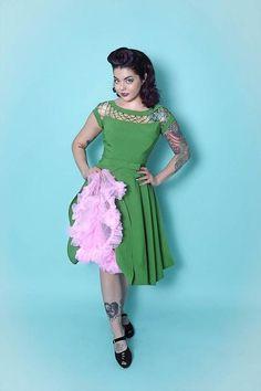 Alika Dress, Grønn