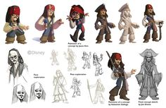 disney infinity captain jack sparrow | included my (slightly) touched up version of Jason's awesome drawing ...