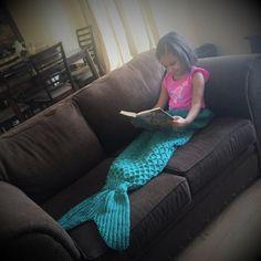 Mermaid Tail Lapghan Blanket Knitting Pattern for by 4aSong