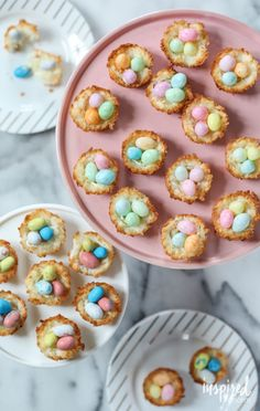 inspired by charm Coconut Macaroon Nests http://inspiredbycharm.com/2017/03/coconut-macaroon-nests.html via bHome https://bhome.us