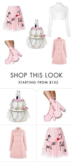 """""""My Simplified Wedding"""" by vthorngate on Polyvore featuring Betsey Johnson, Y.R.U., Oasis, P.A.R.O.S.H. and Balmain"""