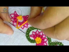 Hand Embroidery Border Designs for Kameez / Kurtis / Blouse / Sarees Hand Embroidery Designs, Embroidery Patterns, Crochet Curtains, Thread Work, Border Design, Cross Stitch Embroidery, Fiber Art, Needlepoint, Needlework